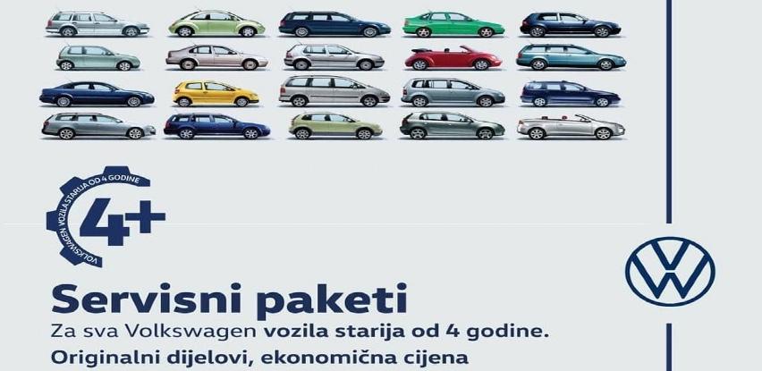 Servisna akcija za sva Volkswagen vozila starija od 4 godine!