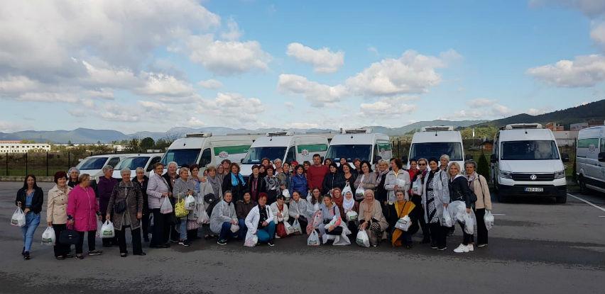 Udruženja žena sa područja Bihaća posjetila Visoko i Industriju mesa Semić