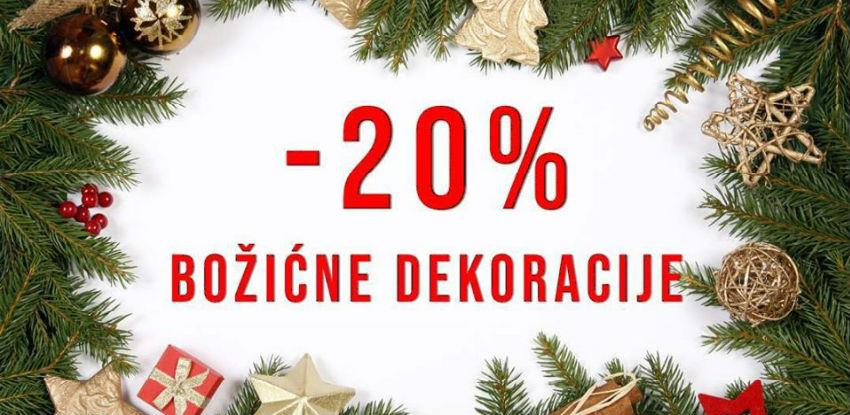 Mališić Home&Decor: Akcija 20 % na božićne dekoracije se nastavlja... (Foto)