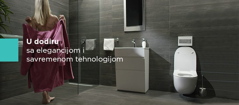 Minimalizam u kupatilu sa Peštan Bathroom Solutions