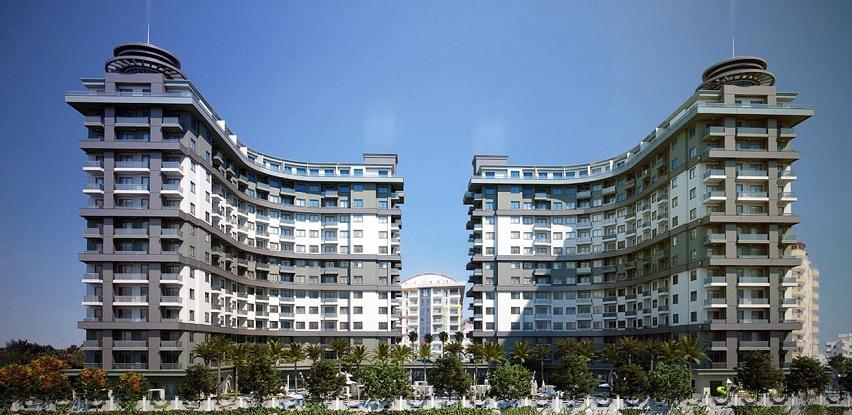 Novoizgrađeni objekat sa infrastrukturom i potpuno hotelskim konceptom u Alanyi