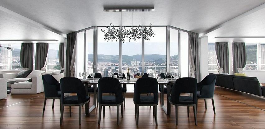 Jedinstvena prilika - luksuzni penthouse sa panoramskim pogledom 373 m2 (Foto)
