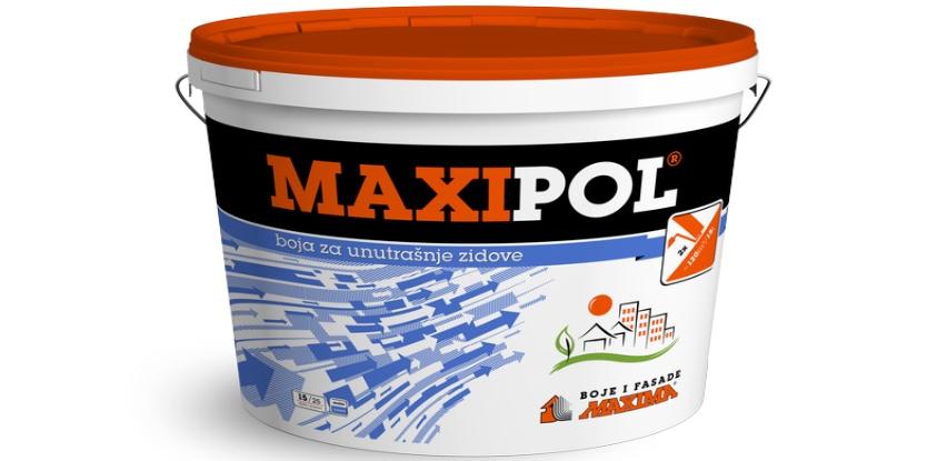 Uz svaki kupljeni MAXIPOL (boja za unutrašnje zidove) dobijate 3kg GRATIS