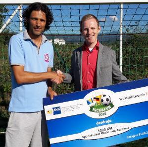 Predstavništvo njemačke privrede uručilo donaciju klubu