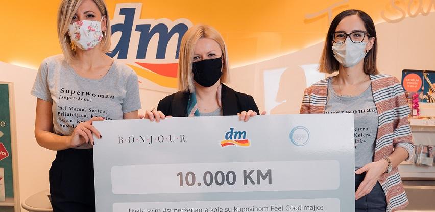 Kampanjom #FEELGOODmajica dm i kupci podržali projekt #poduzetneZAJEDNO (Foto)