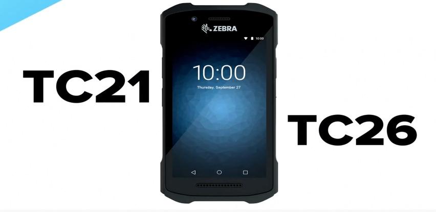 Zebra TC21 i TC26 - prenosni terminali sa cijenom telefona