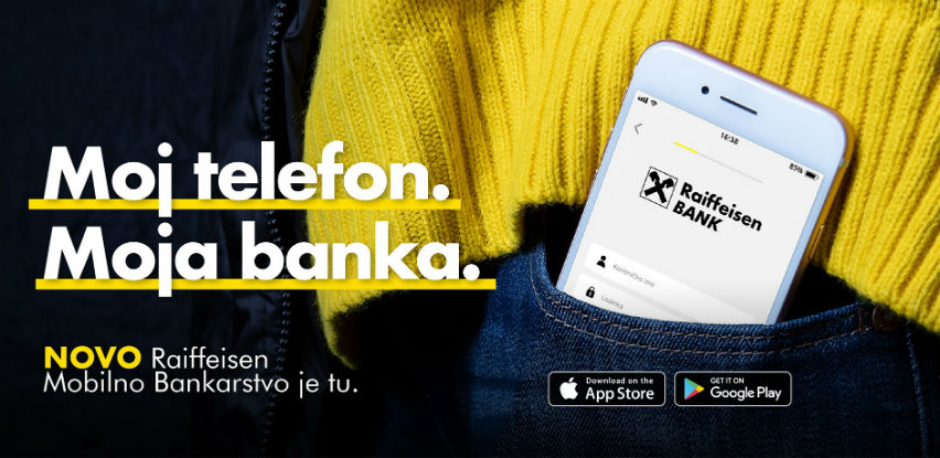 Nova aplikacija Raiffeisen Mobilnog Bankarstva