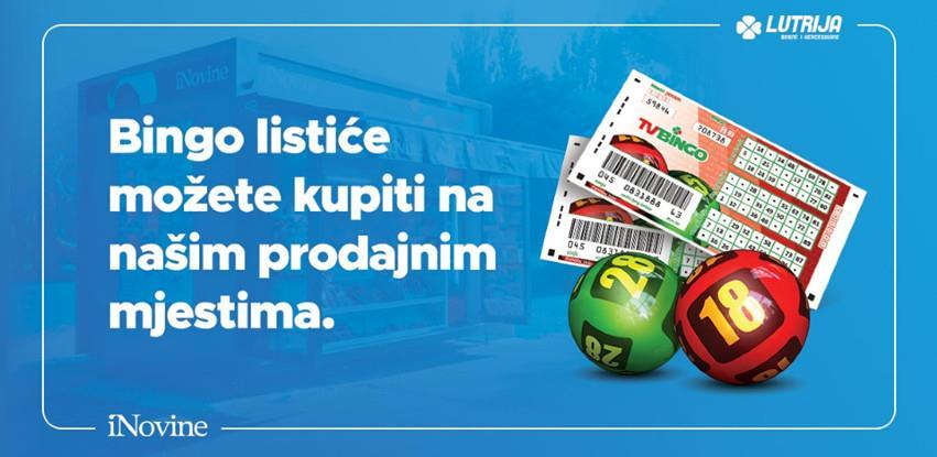 Bingo listiće možete kupiti na iNovine prodajnim mjestima