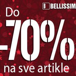 Veliko sezonsko sniženje u Bellissimi do čak -70 %
