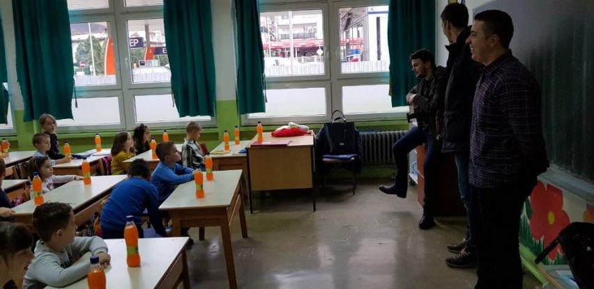 """Bihaćka pivovara počastila prvačiće Osnovne škole """"Meša Selimović"""""""