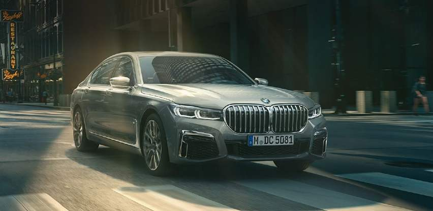 BMW serije 7 Limuzina označava samouvjerenu pojavu