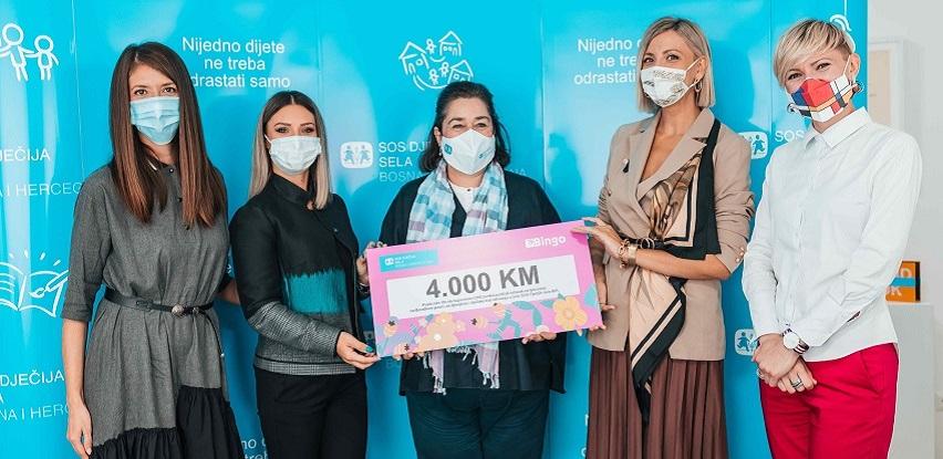 CHICovnik i  Bingo donirali 4.000 KM za ljetovanje djece iz SOS porodica