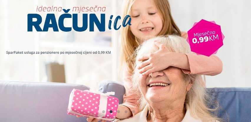 Paket usluga Sparkasse Bank za penzionere od 0,99KM mjesečno