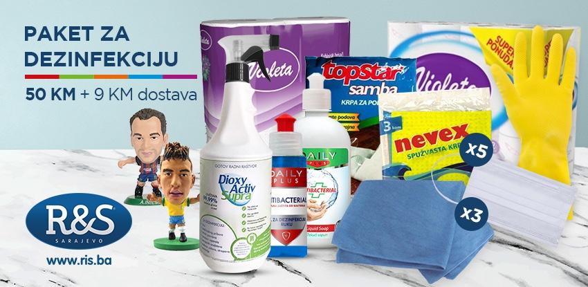 Specijalna ponuda: paket sredstava za dezinfekciju