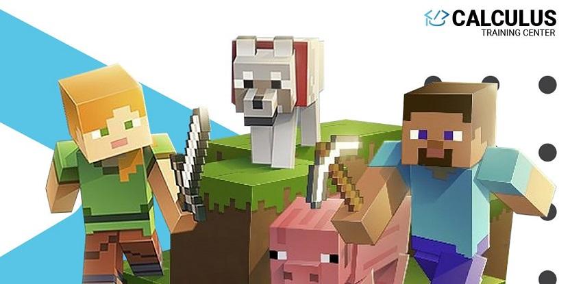 Calculus Training Center organizuje Minecraft dvomjesečni kurs za mališane