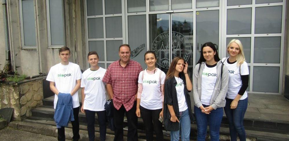 Najbolji Mladi Eko Reporteri boravili u Bihaću