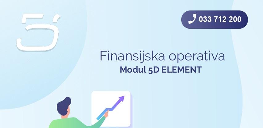 Modul 5D ELEMENT: Finansijska operativa
