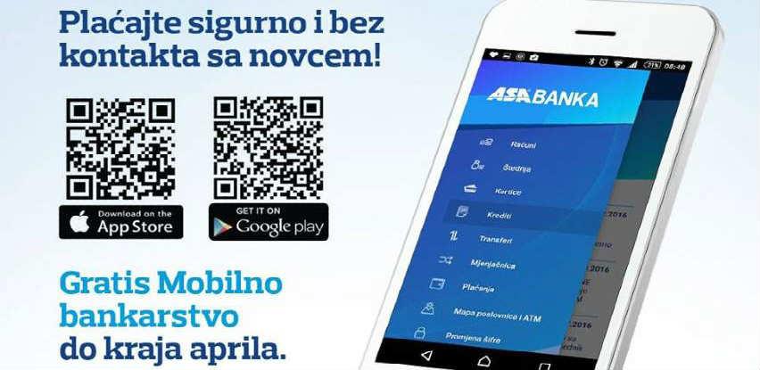 ASA Banka preporučuje plaćanje karticama kako bi se izbjegao izvor zaraze!