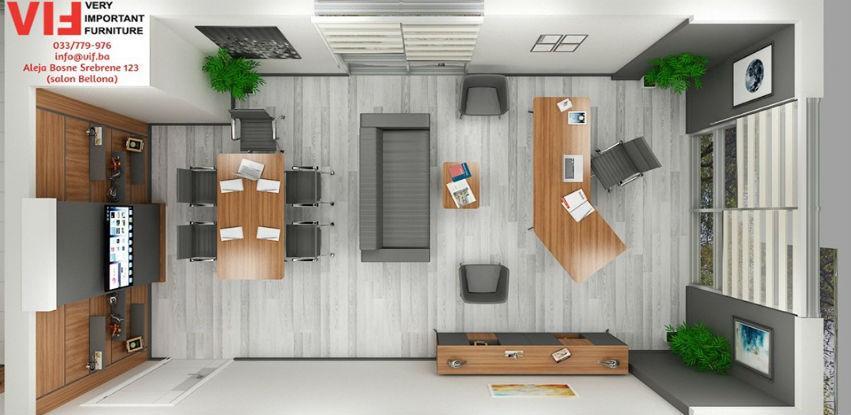 VIF kancelarijski namještaj objedininjuje stil, funkcionalnost i želje