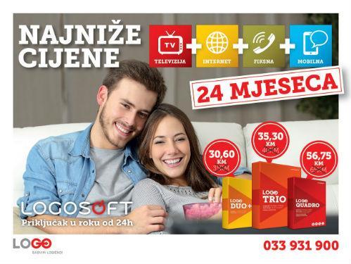 Televizija + Internet + Fiksna + Mobilna - po najnižim cijenama na tržištu