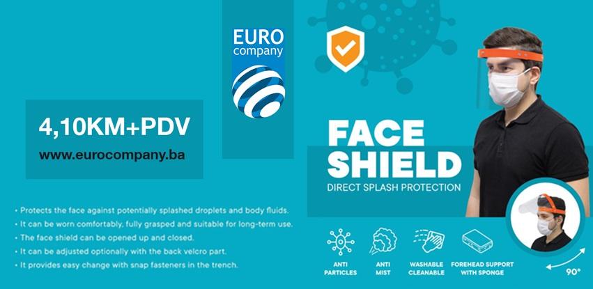 EUROCOMPANY d.o.o. Odžak u ponudi ima zaštitne vizire sa izravnom zaštitom lica