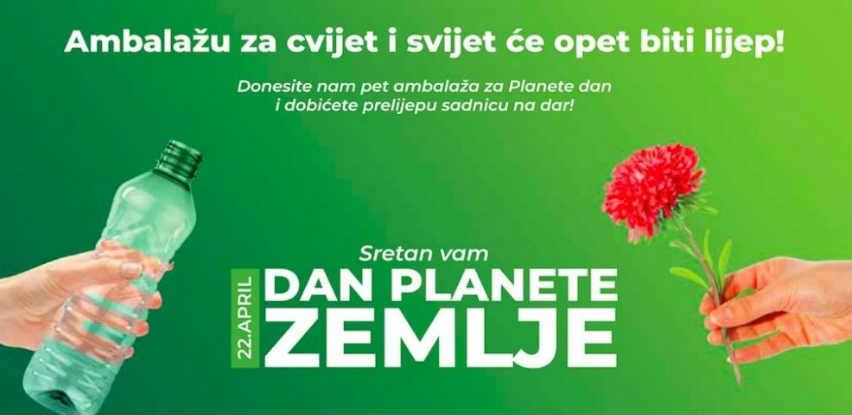 Ekopak prigodnim akcijama obilježava ''Dan planete Zemlje''