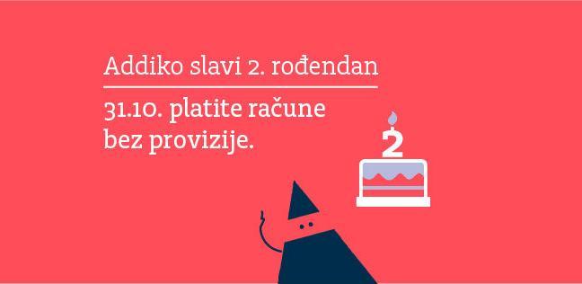 Addiko Bank rođendanska ponuda