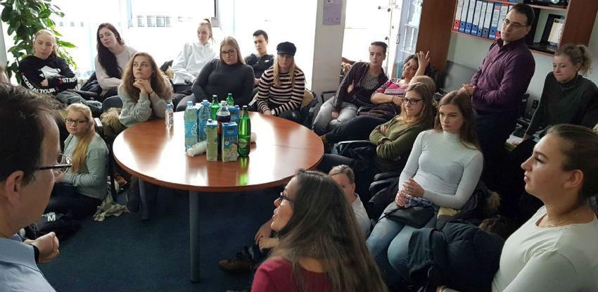 Holandski studenti posjetili INZ