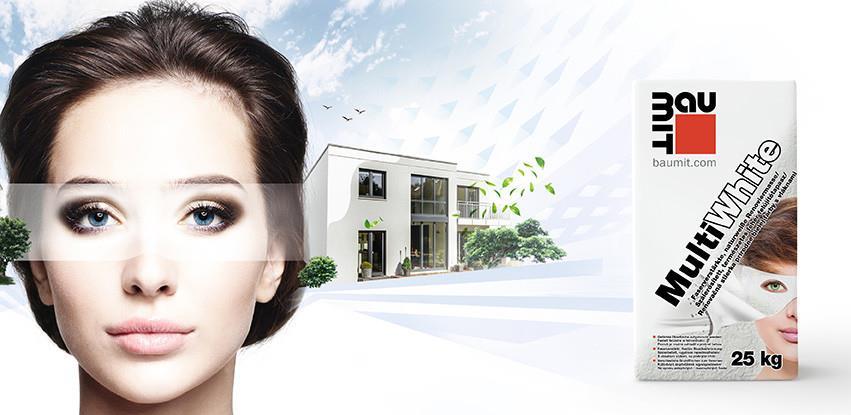 Baumit MultiWhite - Jednostavan način da renovirate svoju fasadu