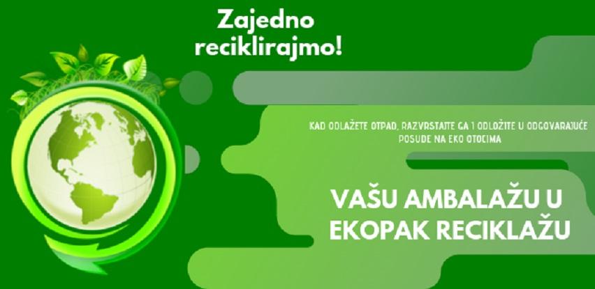 Vašu ambalažu u Ekopak reciklažu!
