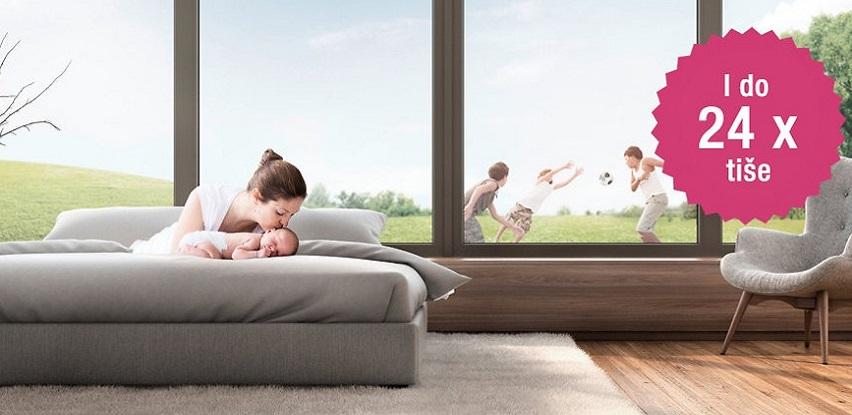 REHAU zvučno izolovani prozori