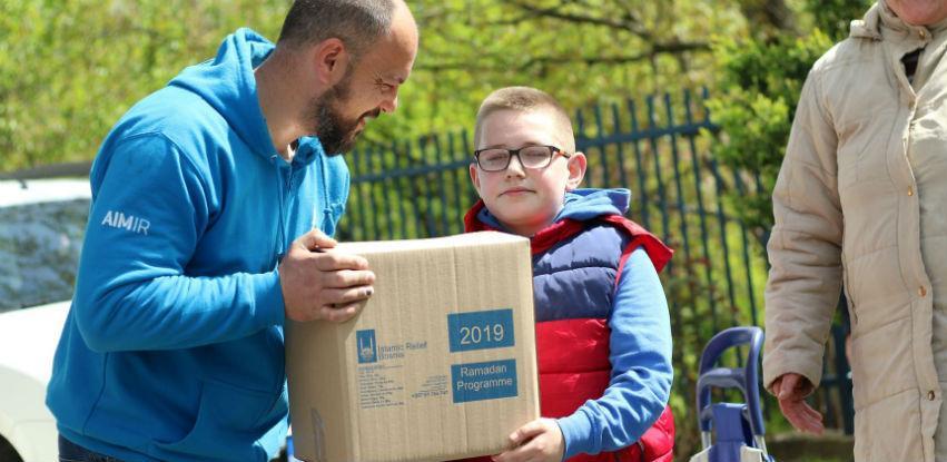 Islamic Relief počeo sa distribucijom ramazanskih paketa za najugroženije u BiH