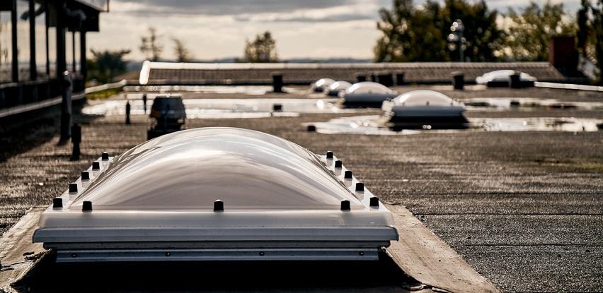 nove velux kupole za osvjetljenje nestambenih zgrada