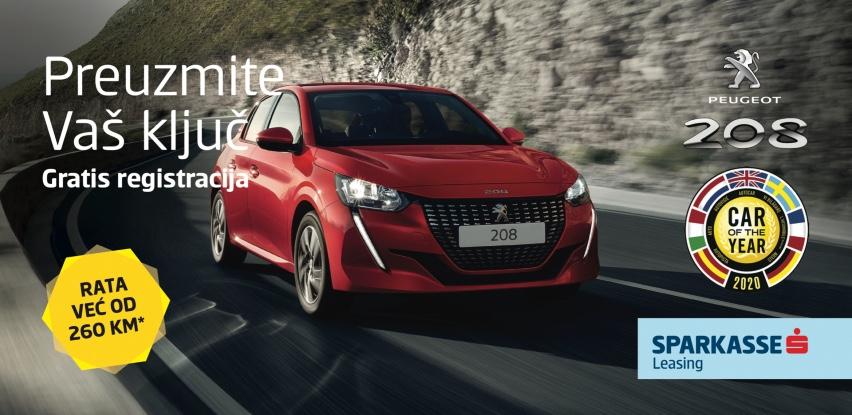 Automobil godine Peugeot 208 u akcijskoj ponudi Sparkasse Leasinga