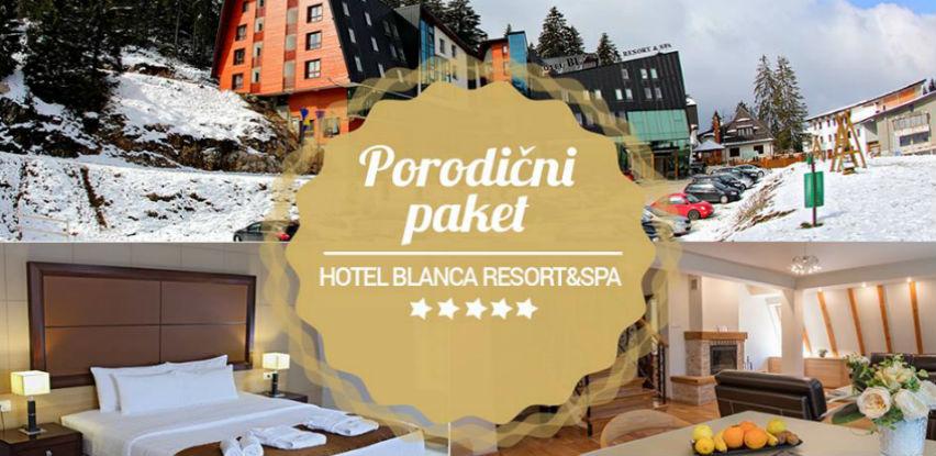 Vrijeme je za porodični odmor u Hotelu Resort & Spa Blanca na Vlašiću