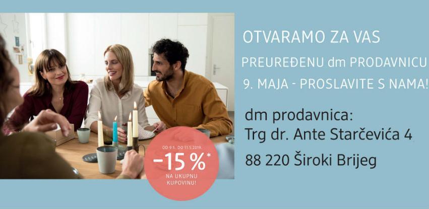 dm drogerie markt otvara preuređenu prodavnicu u Širokom Brijegu