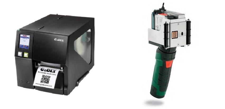 Super ponuda 4U Tuzla: GODEX TERMAL transfer štampači i X1JET HP HandHold