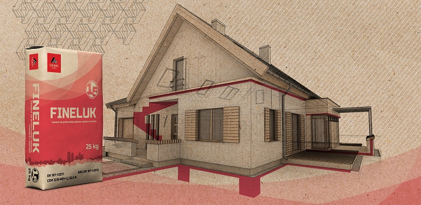 Cement za proizvodnju betona, maltera i estriha