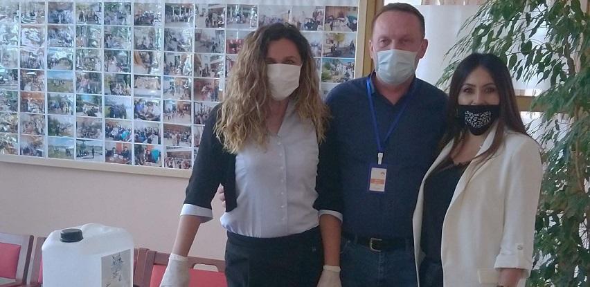 Zaštitna sredstva i dezinfekcijski materijal za Dom za starija lica Prijedor