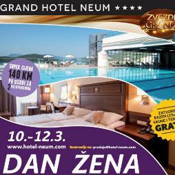 Posebna ponuda za dan žena u Grand Hotelu Neum