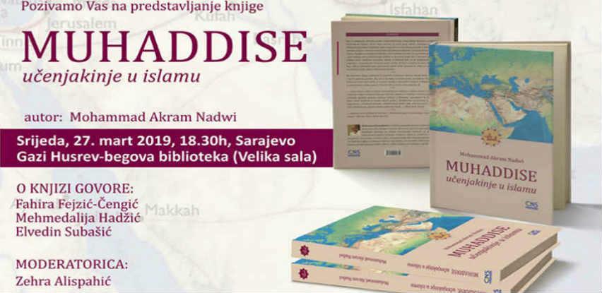 """Gazi Husrev-begova biblioteka vas poziva na promociju knjige """"MUHADDISE"""""""