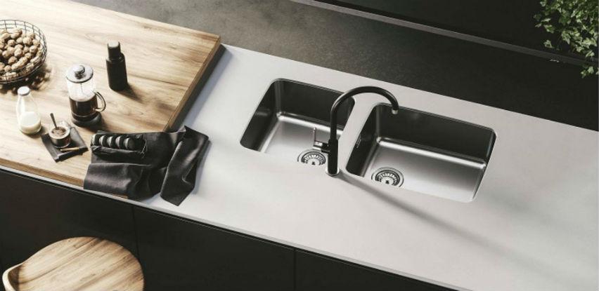 Nova serija podpultnih sudopera pod imenom Alveus Luno