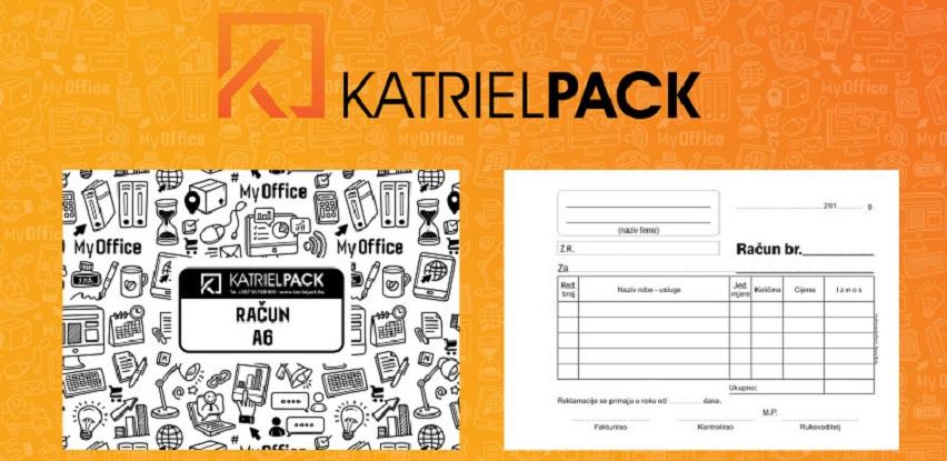 Priznanice, nota računi, isplatnice ... potražite u KatrielPack-u (Foto)