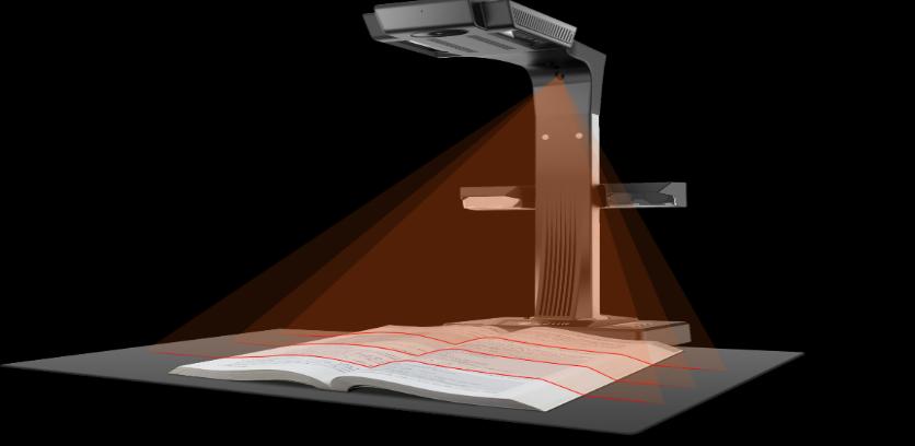 Xenon forte vam predstavlja CZUR pametni knjižni skeneri