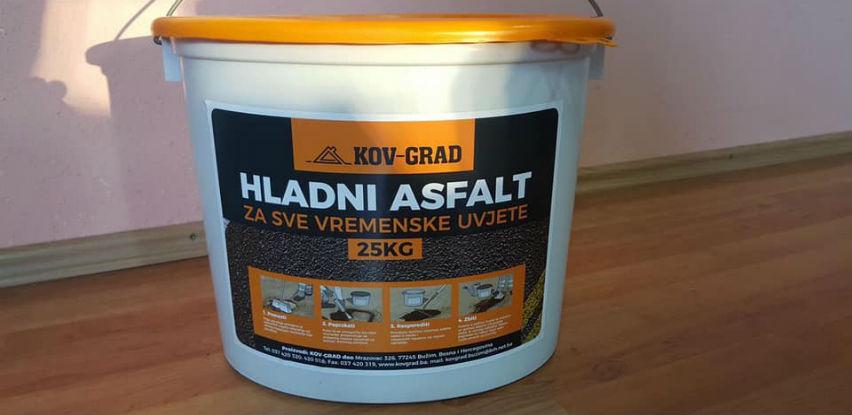 HLADNI ASFALT - Za saniranje udarnih rupa/oštećenja na kolovozu