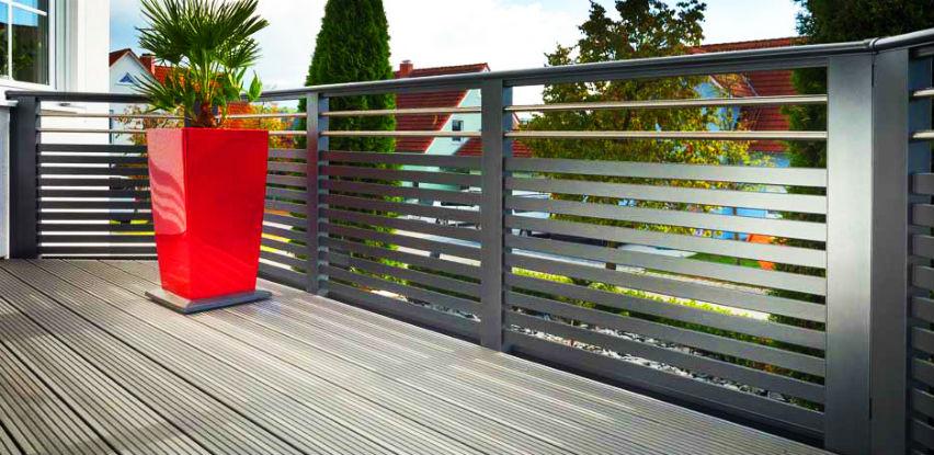 ALU ograda Elegant: Kvalitetno, dugotrajno i povoljno rješenje