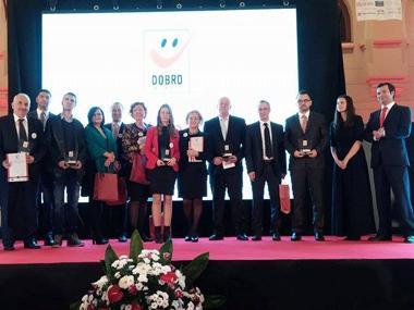 Proglašeni dobitnici nagrade Dobro za filantropiju