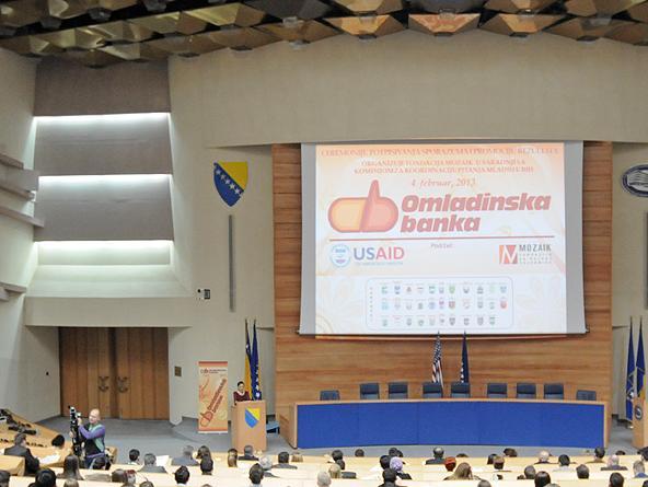 U mreži omladinskih banaka BiH 32 opštine