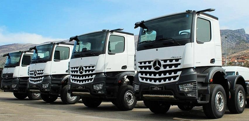 Auto Lijanovići: Dostupne četiri nove šasije Mercedes-Benz Arocsa (Foto)