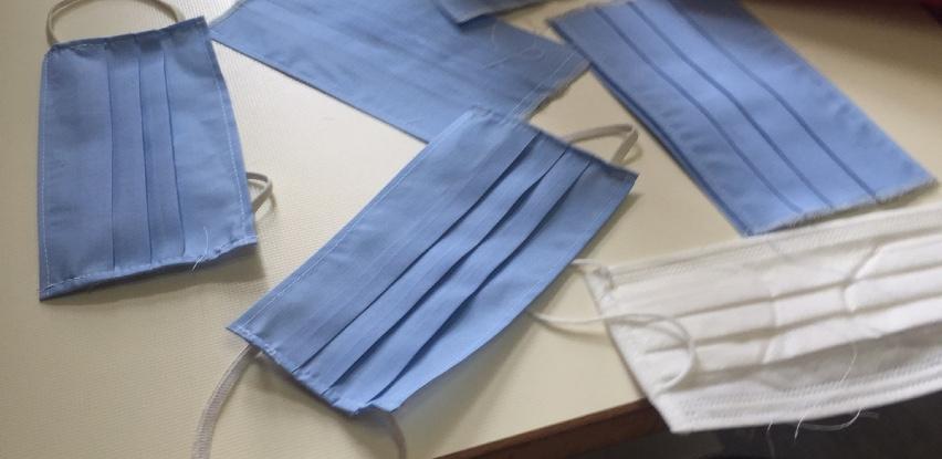 Servis centar za djecu s poteškoćama sašio više od 400 maski za svoje sugrađane